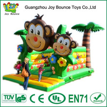 new hot sales monkey animals inflatable castle