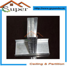 Drywall Galvanizado Fireproof montantes de metal en Guangzhou
