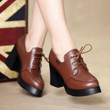 platform Conical sole design 2014 wholesale china women high heel shoes
