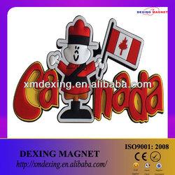 Tourist fridge magnet/promotional fridge magnet/travel souvenir fridge magnet