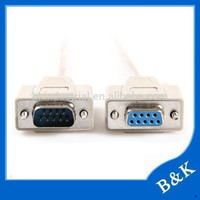 London hot sale d-sub db9 null modem cable on promotion