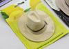 2015 mini yellow cowboy hat air freshener refills in single blsiter packing