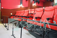 Hottest amusement park mobile electric 5d cinema from Zoyse in China