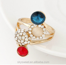 gold ring with opal stone,fashion diamond engagement ring(swtaa1065)