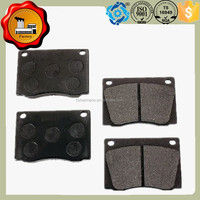 Auto spare parts disc brake pads D83 for Peugeot