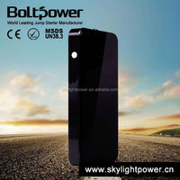 Portable power source powerful mini power bank with ultra-bright led flash light