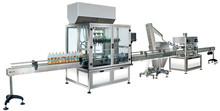 fully automatic Olive oil filling and capping production line