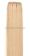 AAAAA grade Wholesale virgin remy double drawn hair extension/weft