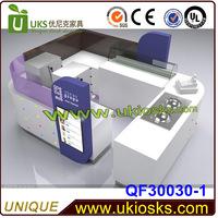 new design ice cream bar counter/ice cream food kiosk/3d ice cream kiosk design