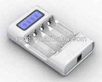 Four Position AA / AAA Ni-MH LCD Smart Charger