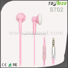 Universal Earphones with In-Ear Noise Reduction for 3.5 mm Earphone Jacks with flat cable