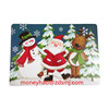 new design hotel table mat table runner hotel dish placemat promotional plastic table mat/high quality PP placemat