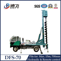 DFS-70 Construction Piling Bore Pile Machine with Remote Control