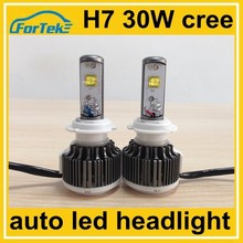 30W cree high power led headlight bulb h7 for car driving light