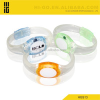 2015 popular products Hot Selling led glow in dark bangle bracelet for wedding gift