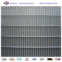 2015 Security fence:galvanized 358 anti climb security fence for garden/farm/airport/prison
