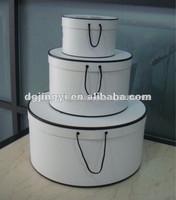 Fashion Round Cardboard Gift Basket Box Tower/Gift Boxes Wholesale UK