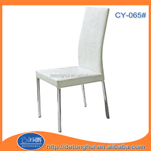 chromed legs dining tables and chairs in turkey CY065