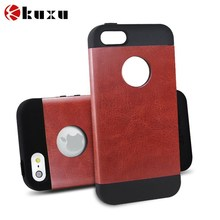 Wholesale Alibaba Leather Wallet Protective Phone Cover for iPhone 5 Case
