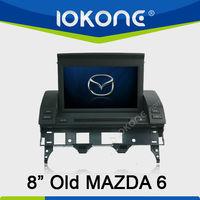 Old mazda 6 in dash car DVD gps navigation 480*800