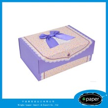 new design jewel box wedding favor box in china leather jewel box