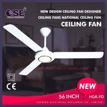 New design ceiling fan designer ceiling fans national ceiling fan HgK-FD