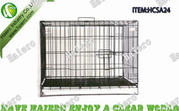 6 Sizes Metal Foldable Dog cage,Dog Kennel, Dog House SA24 with ABS Tray