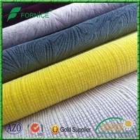100% polyester 300gsm embossed sofa velvet different kinds of fabrics with pictures