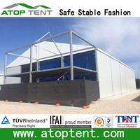 large motorcycle used car warehouse storage tent