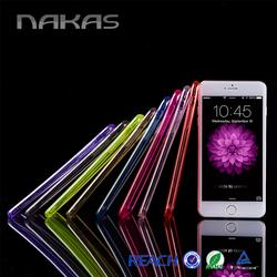 New Design 0.5mm Transparent Colorful Ultra Slim mobile case for iphone case for iphone 6 case