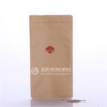 Alibaba Best Seller Hot Sale Stand up Kraft Paper Custom Apparel Packaging Bag