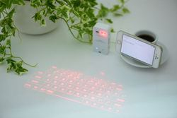 New creative products wholesale bluetooth laser keyboard for smartphone