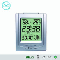 YD 8212E-1 Multifunction LCD Table Clock with Calendar