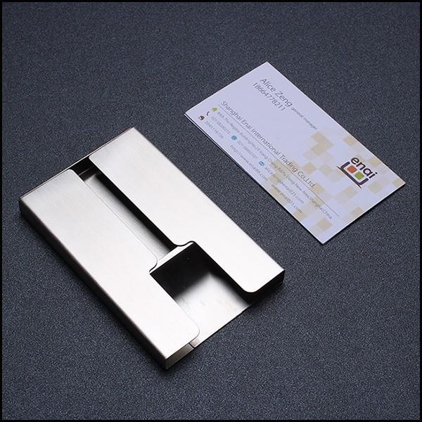 High quality pocket cheap square metal business name card for Cheap square business cards