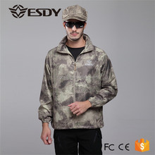 2015 Outdoor Customized tactical Ultra thin quick dry breathable Skin coats for men