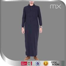 Wholesale black men abaya in dubai jubah vietnam pluse size kurta neck and sleeves designs mukena telekung baju koko