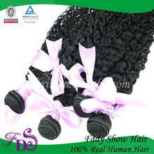 High quality afro kinky curly 100% Indian human remy virgin hair extensions wholesale