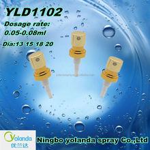 2014Hot sale perfume crimp pump /China wholesale