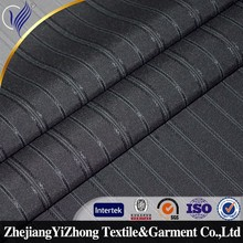 new style 100%polyester for men's stripe suit fabric