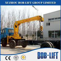 Small Used 5 Tons Truck Crane with Hydraulic