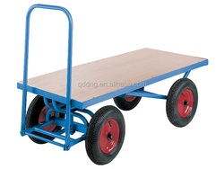 Large Heavy Duty Hand Trolley Flatbed hand trolley TC3600 Flat bed hand pull trolley