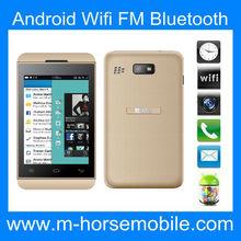 Quad Core Android 4GB/2GB Dual sim Bluetooth smart bar phone