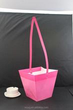 Half Rattan Black Paper Flower Pot Pots Bag