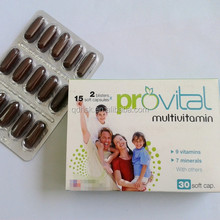 vitamins and minerals --multivitamin supplement