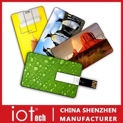 Promotional Gift Bulk Credit Card 250GB USB Flash Drive