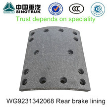 Truck Brake lining for SINOTRUK HOWO TRUCK brake lining WG9231342068