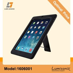 Black Silicon Free Standing Case for iPad 2/3/4/5
