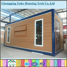 Expandable cabin foldable container house for food kiosk