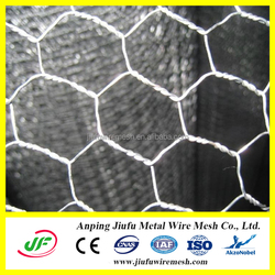 hot sale! manufacture pvc coated low carbon steel anping hexagonal mesh