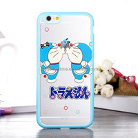 Doraemon series 2 in 1 TPU+PC Back Case for Iphone 6 4.7 inch